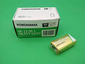 Елемент живлення (батарея) Батарейка Yokohama 9V (крона) (10 шт)