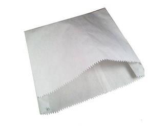Пакет паперовий білий 22см 6*23см 1000 шт