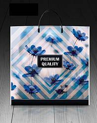 """Пакет с пласмасовой ручкой """"Премиум кволити"""" (10 шт)"""