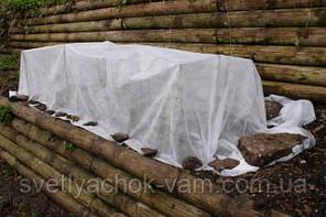 Агротекстиль - агроволокно белое (спанбонд) плотность 42 г/м, ширина 3.2 м, рулон 200 м, укрывной материал