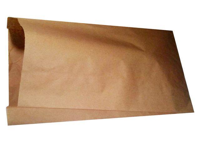 Пакет паперовий 17см 32см коричневий ящ. 1000 шт