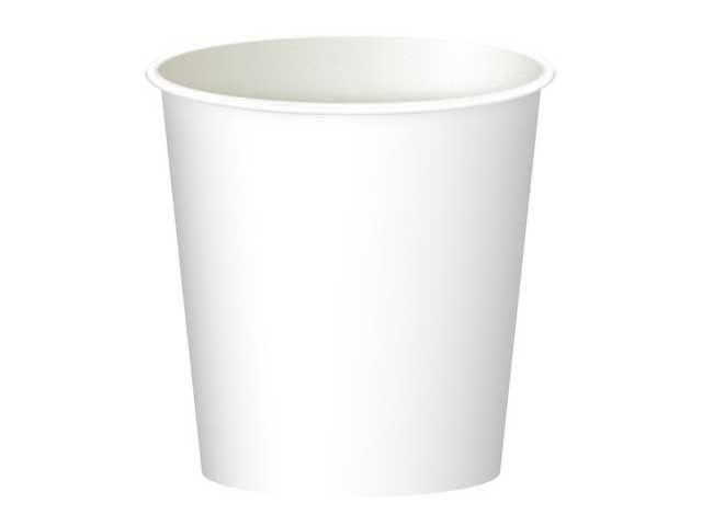 Паперовий стакан 110 мл білий Маестро (50 шт)