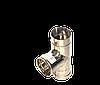 Трійник кут 87, неіржавіюча сталь, товщиною 0,5 мм, діаметр 130мм