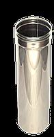 Труба, нержавейка, 1м, толщиной 1 мм, диаметр 250мм