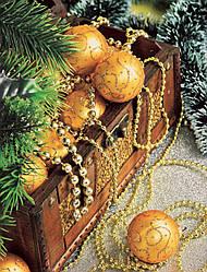 """Пакет ламинированный с петлевой ручкой """"Новогодняя композиция"""" 23см 29см 50мк (50 шт)"""