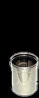 Труба, нержавейка, 0,3м, толщиной 1 мм, диаметр 220мм
