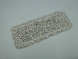 Моп петлевий з бавовни для вологого прибирання, кишені/стрічки, 50х16 см (1 пач.)