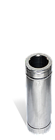 Труба, н/оц, 0,5 м, товщиною 1 мм, діаметр 160мм