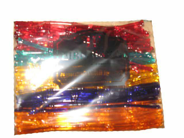 """Мешалка пластиковая для коктейля """"Бамбук"""" 20,5см (100шт) Юнита"""
