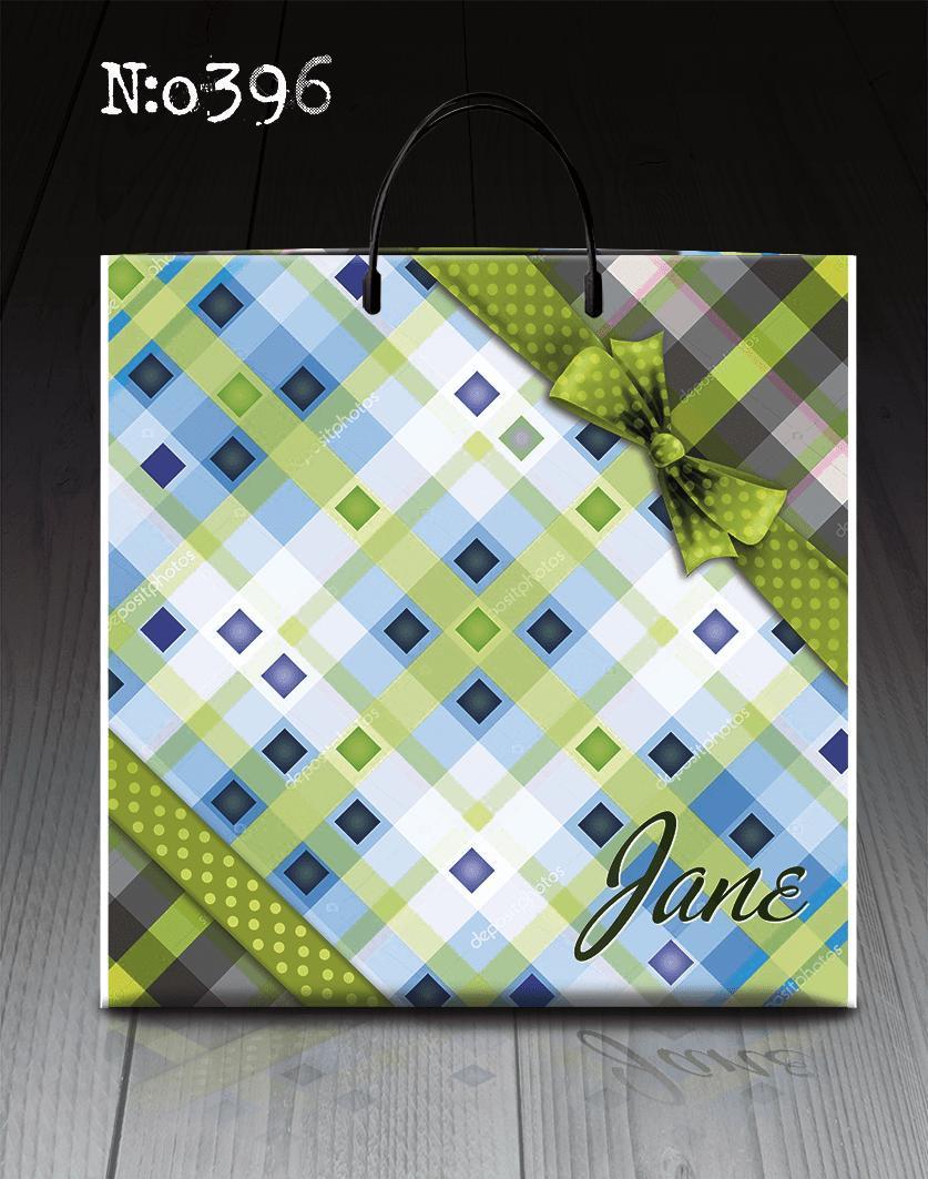 """Пакет с пластиковой ручкой """"Джейн """"396 (10 шт)"""