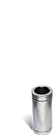 Труба, н/оц, 0,25м, толщиной 1 мм, диаметр 150мм