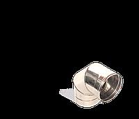 Коліно 90, неіржавіюча сталь, товщиною 0,5 мм, діаметр 110мм