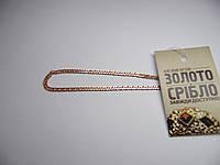 Золотой браслет, размер 17,3 см