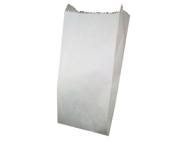 Пакет бумажный 10см 23см Белый ящ. 1000 шт.