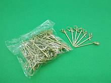 Бамбукові палички з вузликом 6см,100 шт (1 пач.)