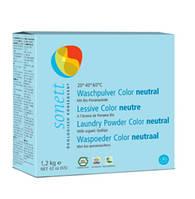Sonett органический стиральный порошок для цветных тканей (нейтральная серия), 1,2 кг