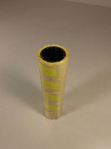 Паперовий цінник Жовтий (р30*40мм) 3,5 м (5 шт)