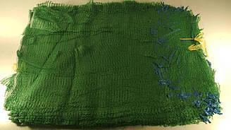 Сетка овощная, сетка-мешок для овощей (р50х80) 40кг зеленая (100 шт)
