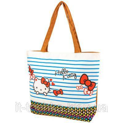 Женская пляжная тканевая сумка valiria fashion 3detal1819-5