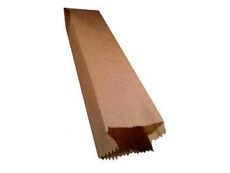 Пакет паперовий 8см 6*42см коричневий (1000 шт)