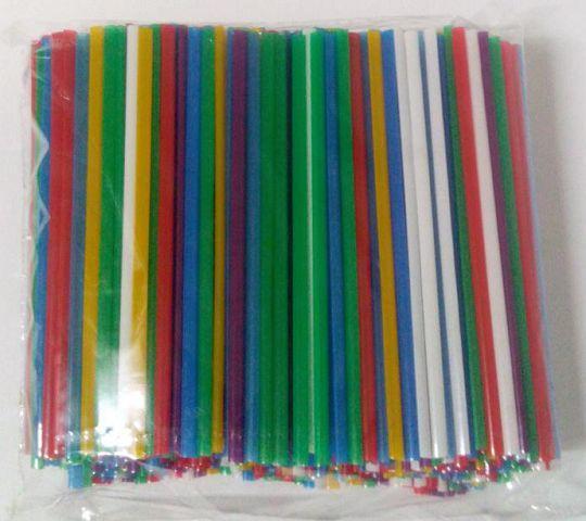 Трубочки для напоїв d3 12,5 см Махито мікс (500 шт)