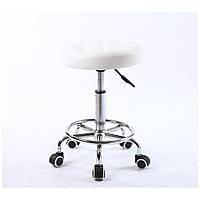 Парикмахерское кресло стул мастера HC635K белый