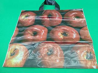 """Пакет с петлевой ручкой (38*35) """"Яблоко"""" (25 шт)"""