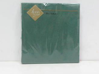 Салфетка (ЗЗхЗЗ, 20шт) Luxy Зеленая (3-8) (1 пач)