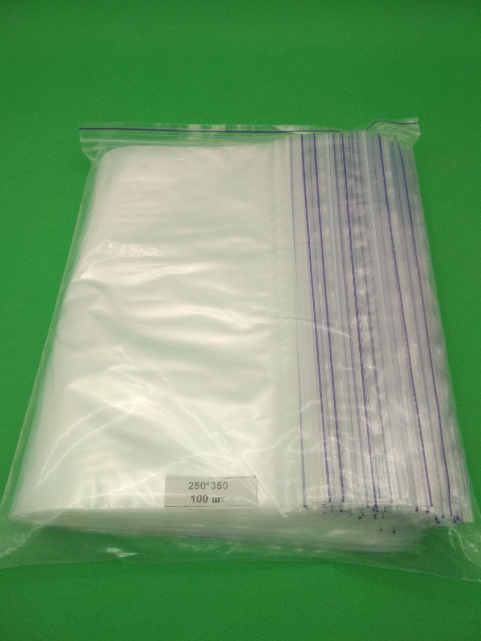 Пакет з замком zipp 25см 35см (100шт)