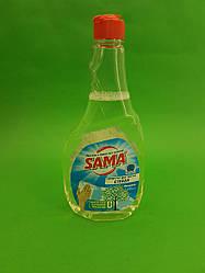 Миючий засіб для скла і дзеркал САМА Мигдаль 500г (запаска) (1 шт)