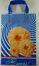 Пакеты с петлевой ручкой полиэтиленовые 25см 35см Флора уп/25штук