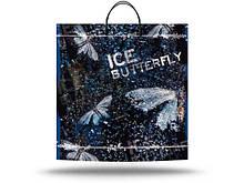 """Пакет Подарочный с пластиковой ручкой  """"Ледяная бабочка"""" (10 шт)"""