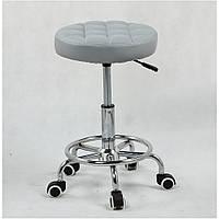 Парикмахерское кресло стул мастера HC635K серый
