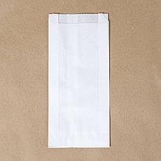 Бумажные пакеты для упаковки чая и кофе 100мм*30мм*230 мм белый, фото 3