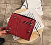 Стильная замшевая сумка сундучок на цепочке, фото 4