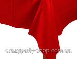Скатерть праздничная красная пленка
