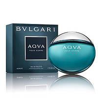 Bvlgari Aqua Marine 100 мл туалетна вода для чоловіків (мужская туалетная вода Булгари Аква Марин) (Реплика)