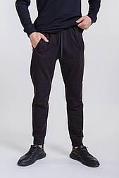 Мужские спортивные штаны с манжетами (Черный)