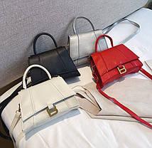 Стильная сумка сундучок на ремешке В, фото 3