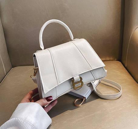 Стильная сумка сундучок на ремешке В, фото 2
