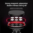 Тримач магнітний KONI STRONG KS-42 mini magnetic dashboard car holder, чорний, фото 6