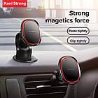 Тримач магнітний KONI STRONG KS-42 mini magnetic dashboard car holder, чорний, фото 7