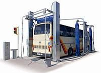 Автоматическая мойка проездного типа для Автобусов ISTOBAL 4PL
