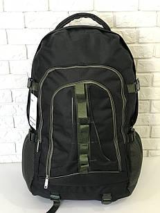 Рюкзак туристичний VA T-02-8 65л, чорний з хакі