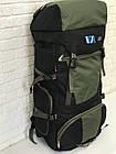 Рюкзак туристический VA T-04-8 85л, олива, фото 2
