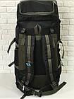 Рюкзак туристический VA T-04-8 85л, олива, фото 4