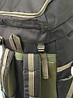 Рюкзак туристический VA T-04-8 85л, олива, фото 9