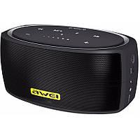 Портативная Bluetooth колонка AWEI Y210 BT (NFC) черная, фото 1
