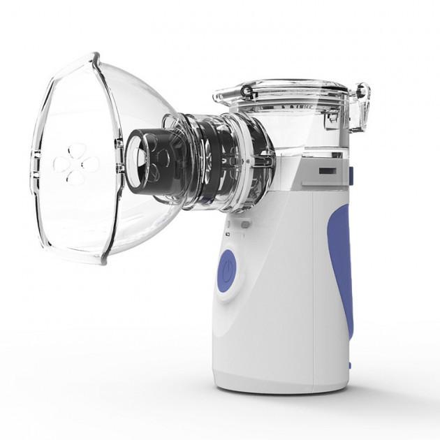 Портативный ингалятор небулайзер Mesh Nebulizer YM-252 New ультразвуковой аппарат прибор для ингаляции меш,