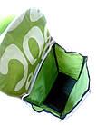 Тачка сумка с колесиками кравчучка 96см MH-1900 зеленая, фото 3